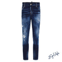 COOL GIRL CROPPED' JEANS