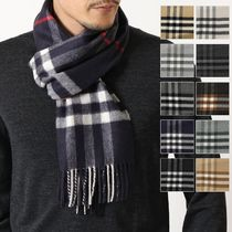 BURBERRY マフラー GIANT CHECK CASHMERE SCARF カシミヤ
