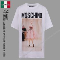 Moschino No Strings Attached oversize cotton t-shirt