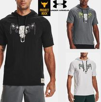 UNDER ARMOUR×Project Rock Charged Cotton半袖パーカー1361719