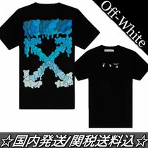 21SS☆Off-White☆MARKER アロー ロゴ Tシャツ 半袖 関税込