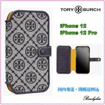Tory Burch ☆ MONOGRAM JACQUARD iPhone 12/12pro ケース