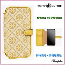 Tory Burch ☆ MONOGRAM JACQUARD iPhone 12 Pro Max ケース