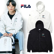 FILA☆BTS♪ジミン着用☆FILA HERITAGE ARCHIVE HOOD ZIP UP☆