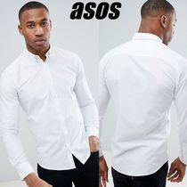◆ASOS◆Only & Sons/ボタンホワイトシャツ《送料・関税込》♪