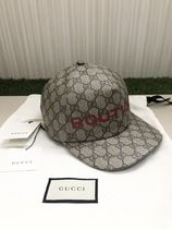 【GUCCI】GG BOUTIQUE プリント ベスボールキャップ