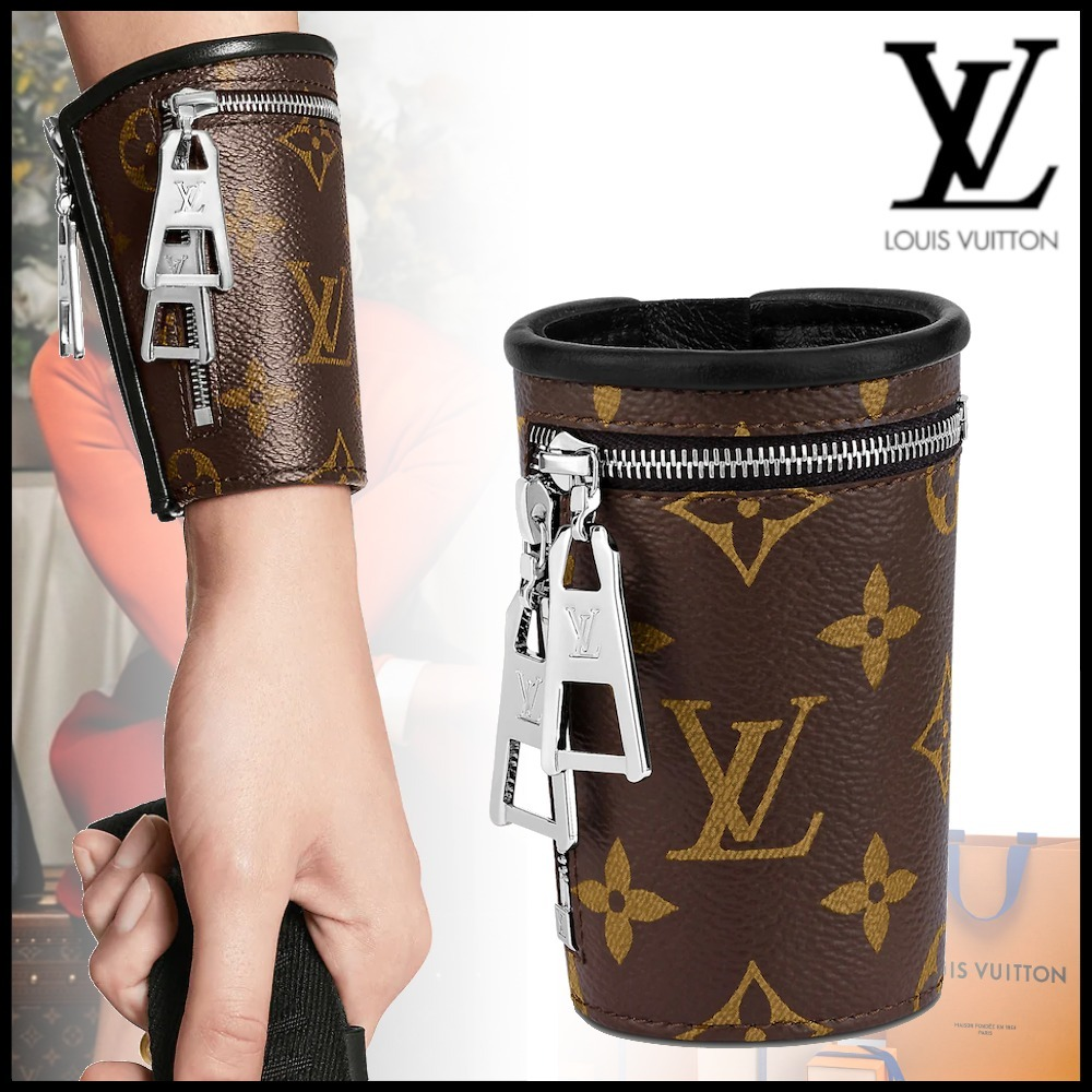 21SS Louis Vuitton カフリンク マンシェット モノグラム ジップ (Louis Vuitton/ブレスレット) MP2996