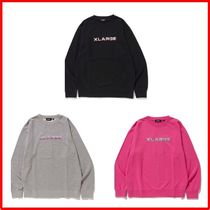 X-Large★送料・関税込み★EMBROIDERY GRADATION ロゴスウェット