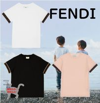 ☆大人もOK!☆FENDI☆FENDI ロゴ jersey junior T-shirt☆