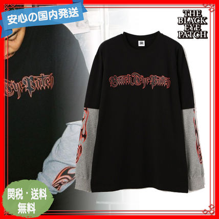 国内発送 BlackEyePatch Layered LS Tee Black 関税送料込