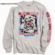 Urban Outfitters(アーバンアウトフィッターズ) Tシャツ・カットソー ★送料込み★Red Hot Chilli Peppers★ロングTシャツ★