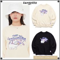 TARGETTO SEOULのFLOWER KITTEN SWEAT SHIRT 全2色