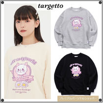 TARGETTO SEOULのRIBBON CAT SWEAT SHIRT 全3色