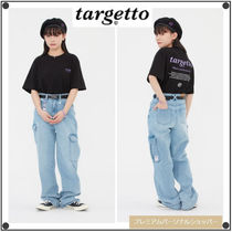 TARGETTO SEOULのWIDE DENIM CARGO PANTS