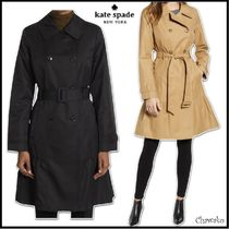 【kate spade new york】Belted Trench Coat◆トレンチコート