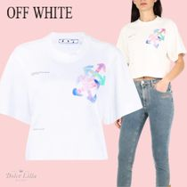 OFF WHITE Watercolor arrows t-shirt
