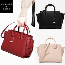 ★Charles & Keith★Trefiz Boxy Tote & Shoulder Bag★3色