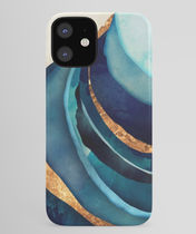 *Society6* Abstract blue iPhone ケース