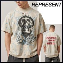REPRESENT(リプレゼント) Tシャツ・カットソー 【ヴィンテージ仕上げ】REPRESENT LOUDER THAN HELL TEE