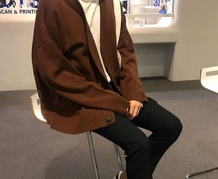 PERFECT DOUBLE CARDIGAN(5COLORS)★韓国人気★送料込