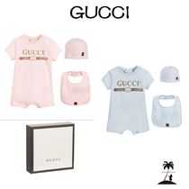 ★GUCCI★Babyスーツギフトセット/3Piece/Pink & Blue