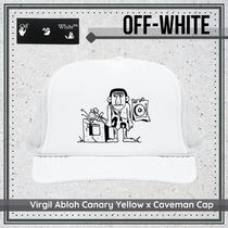 {Virgil Abloh} Canary Yellow x Caveman Cap 送料関税込