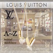 【LOUIS VUITTON】イニシャル レター ネックレス・LV&ME*A〜Z