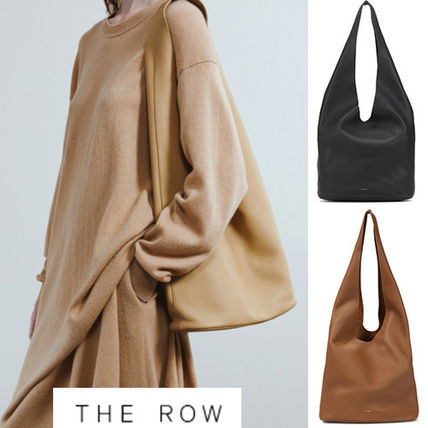 The Row トートバッグ 国内発送 The Row Bindle Three Bag in Leather