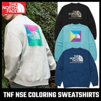 【THE NORTH FACE】TNF NSE COLORING SWEATSHIRTS
