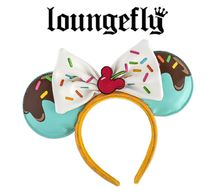 【Loungefly】ディズニー●カチューシャ●SWEET TREATS HEADBAND