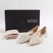 Badgley Mischka::Gigiフラットシューズ:US7[RESALE]