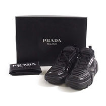 PRADA::TECHNICAL FABRIC AND RUBBER SNEAKERS:UK6[RESALE]