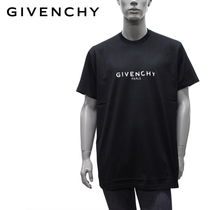GIVENCHY(ジバンシィ) Tシャツ・カットソー 【即発】ジバンシィ GIVENCHY OVER SIZE ロゴ Tシャツ