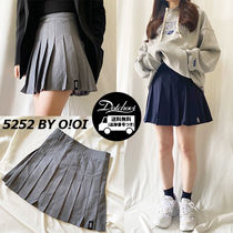 5252 by oioi PLEATED MINI SKIRT NE3047 追跡付