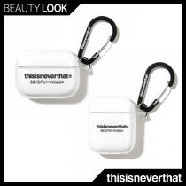 thisisneverthat(ディスイズネバーザット) スマホケース・テックアクセサリーその他 【thisisneverthat】正規品★T-Logo AirPods Pro Case Clear