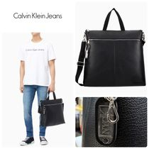 Calvin Klein Jeans★TAGGED トート&クロスバッグ *BLACK