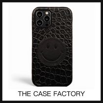 【THE CASE FACTORY】IPHONE12&12PRO ケース クロコ スマイリー