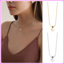 【LAZY DAWN】pearl drop necklace N020〜ネックレス★2021SS
