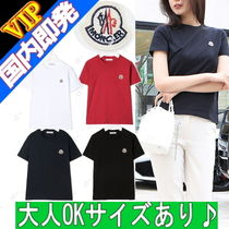 MONCLER(モンクレール) キッズ用トップス ◆◆VIP◆◆ MONCLER ENFANT   胸ロゴ Tシャツ