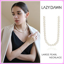 【LAZY DAWN】large pearl necklace N023〜ネックレス★2021SS