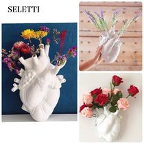 UK発 SELETTI Love in Bloom ハート型花瓶/送料込