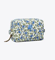 Tory Burch PIPER PRINTED LARGE COSMETIC CASE  (大)
