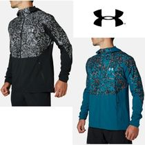 UNDER ARMOUR WOVEN PRINTED HOODY♪
