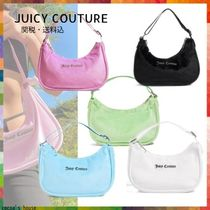 JUICY COUTURE(ジューシークチュール) ショルダーバッグ・ポシェット *Juicy Couture/ジューシークチュール* ベロア ショルダーバッグ