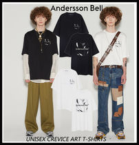 【ANDERSSON BELL】UNISEX CREVICE ART T-SHIRTS
