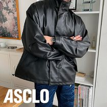 ASCLO Leather Field Jacket