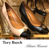 Outlet買付【Tory Burch】Everly 85mm クローズドトゥシューズ