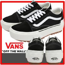 ☆韓国の人気☆【VANS】☆OLD SKOOL STACKE.D☆22-25cm☆関税込