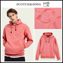 2021SS新作!! ☆Scotch & Soda☆ Logo cotton-blend hoodie