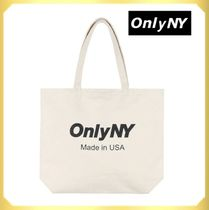 ONLY NY(オンリーニューヨーク) トートバッグ 人気☆【ONLY NY】Made inUSA ロゴ ジャンボ トートバッグ